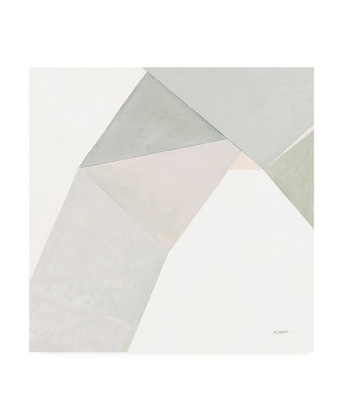 "Trademark Global Mike Schick Paper Work I Neutral Canvas Art - 20"" x 25"""