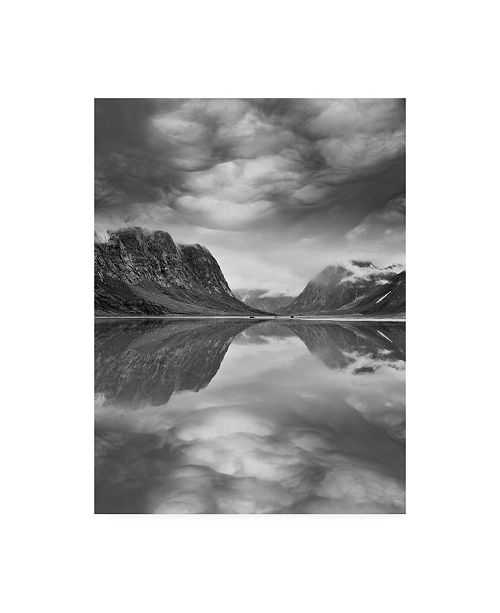 "Trademark Global Monte Nagler Mountain Reflections Canada Canvas Art - 20"" x 25"""