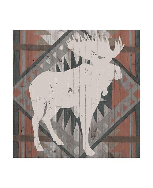 "Trademark Global Vision Studio Southwest Lodge Silhouette IV Canvas Art - 15"" x 20"""