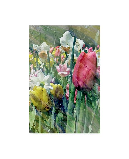"Trademark Global Pam Ilosky Spring at Giverny III Canvas Art - 20"" x 25"""