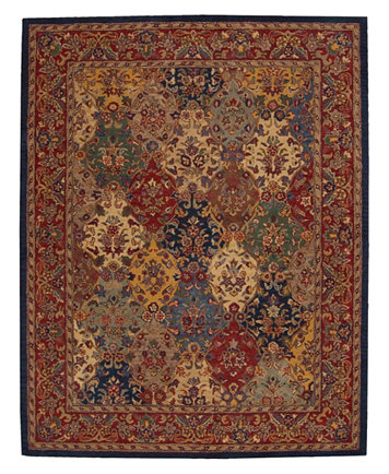 Image 1 Of Closeout Nourison Area Rug India House Ih23 Panel Multi Color 8