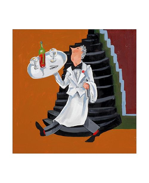 """Trademark Global Patricia A. Reed Wine Garcon Canvas Art - 15.5"""" x 21"""""""