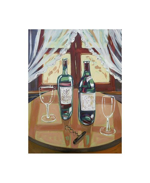 "Trademark Global Patricia A. Reed Two Bottles Canvas Art - 36.5"" x 48"""