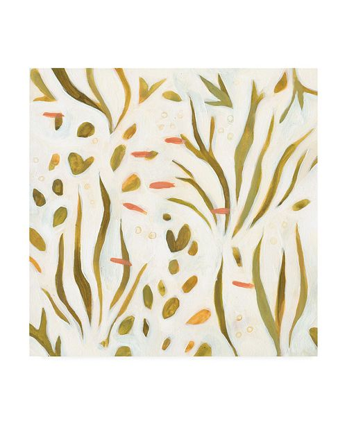 "Trademark Global Emma Scarvey Saltwater Reverie I Canvas Art - 15.5"" x 21"""