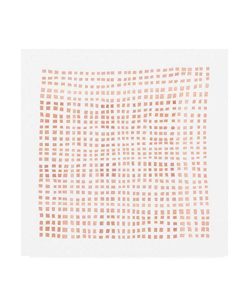 "Trademark Global Emma Scarvey Woven II Canvas Art - 15.5"" x 21"""