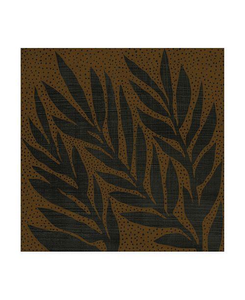 "Trademark Global Chariklia Zarris Cacao VII Canvas Art - 15.5"" x 21"""