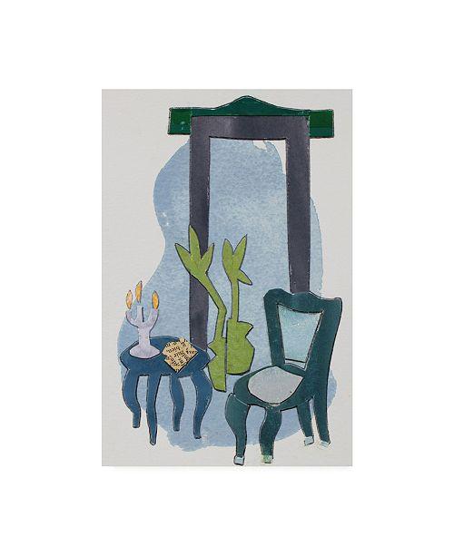"Trademark Global Rob Delamater Chateau Interior IV Canvas Art - 27"" x 33.5"""