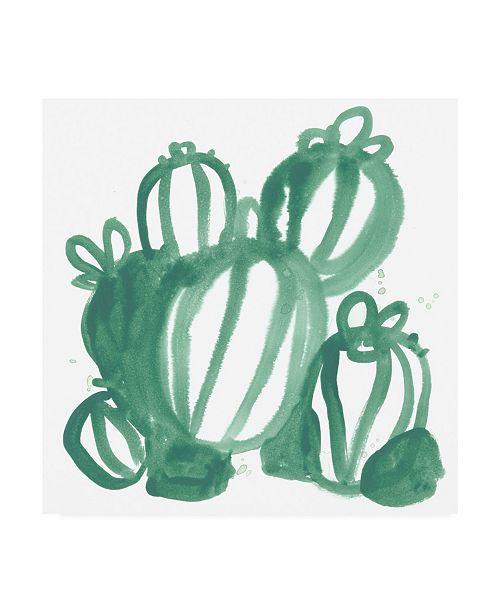 "Trademark Global June Erica Vess Boho Tropicals III Canvas Art - 36.5"" x 48"""