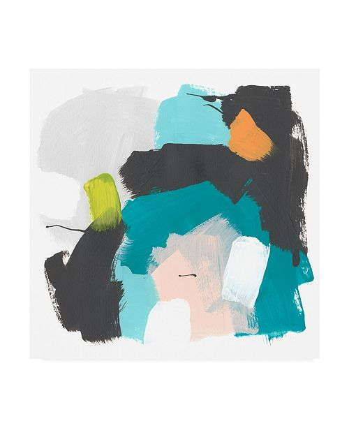 "Trademark Global June Erica Vess Side Line I Canvas Art - 15.5"" x 21"""