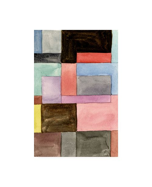 "Trademark Global Melissa Wang Primary Blocks II Canvas Art - 19.5"" x 26"""