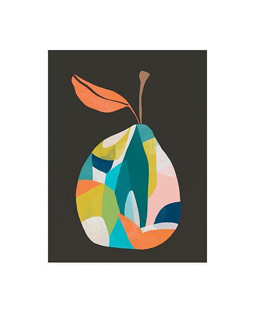 "Trademark Global June Erica Vess Fab Fruit IV Canvas Art - 36.5"" x 48"""