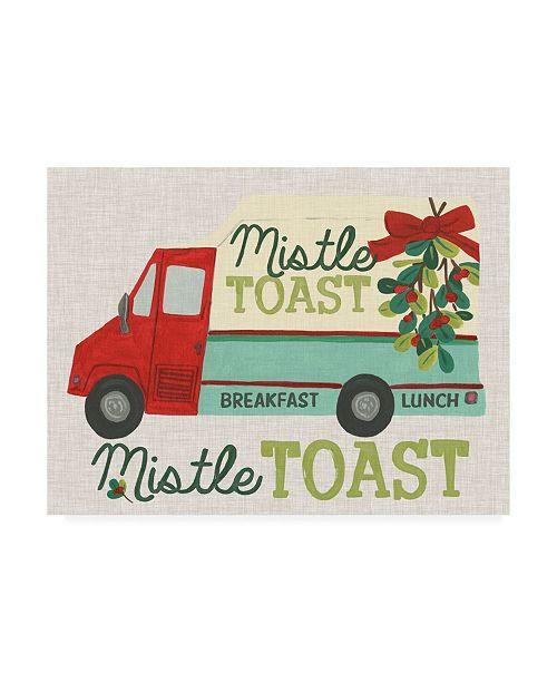 "Trademark Global June Erica Vess Food Truck Holidays III Canvas Art - 19.5"" x 26"""