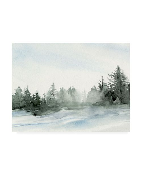 "Trademark Global Jennifer Paxton Parker Evergreens in the Distance I Canvas Art - 19.5"" x 26"""