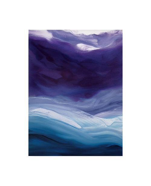 "Trademark Global Teodora Guererra Lavender Sky Canvas Art - 36.5"" x 48"""