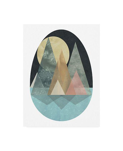 "Trademark Global June Erica Vess Terra Forms I Canvas Art - 19.5"" x 26"""