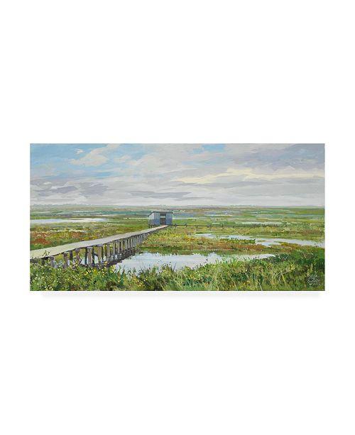 "Trademark Global Peter Snyder Last Mountain Lake Bird Sanctuary Canvas Art - 19.5"" x 26"""