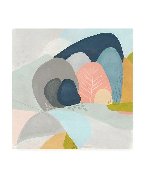"Trademark Global June Erica Vess Whimsical Valley I Canvas Art - 15.5"" x 21"""