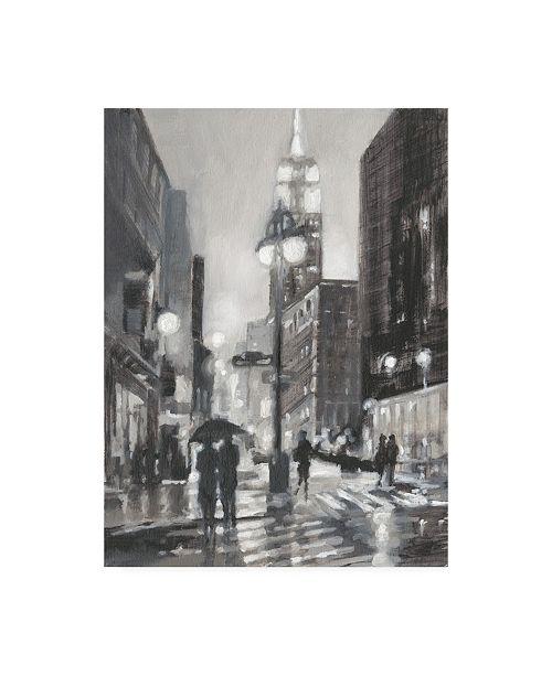 "Trademark Global Ethan Harper Illuminated Streets I Canvas Art - 19.5"" x 26"""