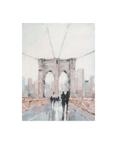"Trademark Global Ethan Harper Early Morning Stroll I Canvas Art - 36.5"" x 48"""