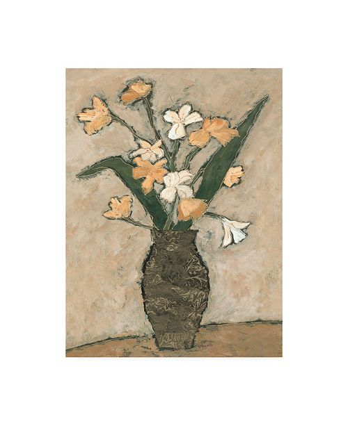 "Trademark Global Judi Bagnato Flowers from B I Canvas Art - 36.5"" x 48"""
