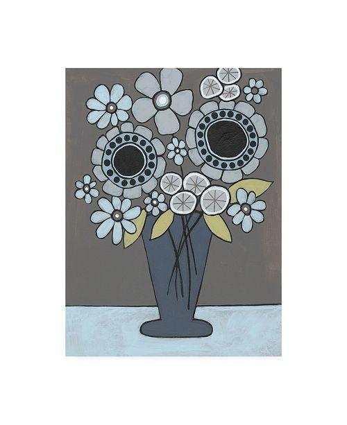 """Trademark Global Regina Moore Happy Garden Flowers II Canvas Art - 19.5"""" x 26"""""""