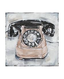 "Ethan Harper Retro Phone IV Canvas Art - 36.5"" x 48"""