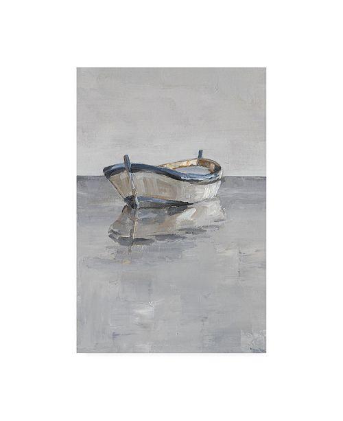 "Trademark Global Ethan Harper Boat on the Horizon II Canvas Art - 19.5"" x 26"""