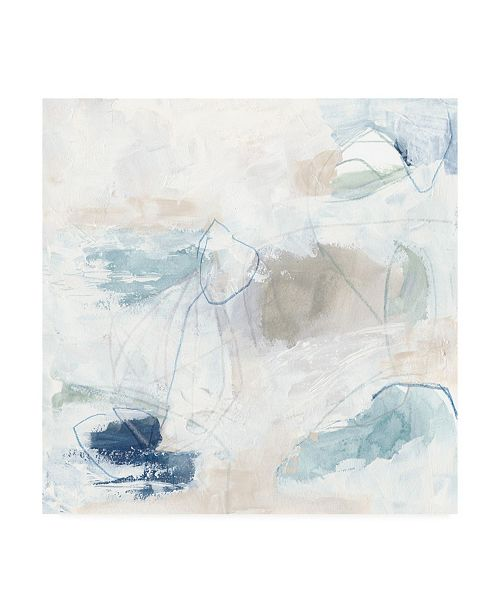 "Trademark Global June Erica Vess Pebble Coast IV Canvas Art - 15.5"" x 21"""
