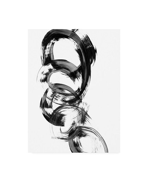 "Trademark Global Ethan Harper Dynamic Spiral II Canvas Art - 36.5"" x 48"""