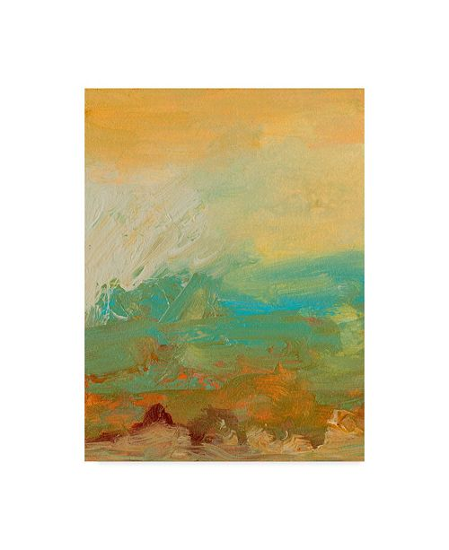 "Trademark Global Sharon Gordon Tropical View I Canvas Art - 15"" x 20"""