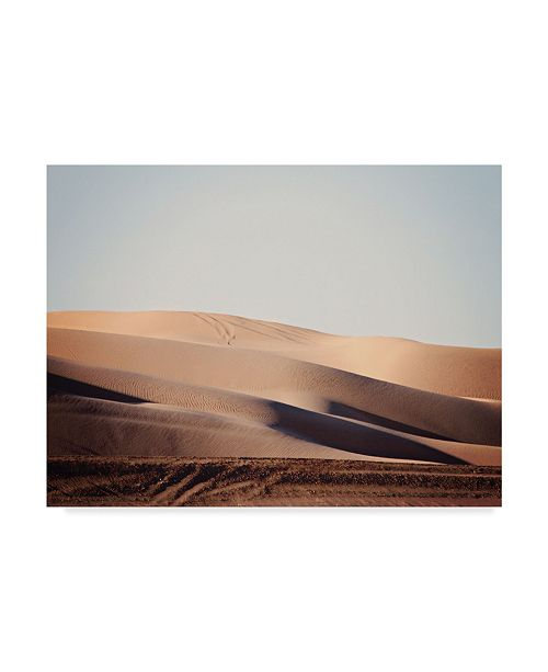 "Trademark Global Sylvia Coomes Sand Dunes I Canvas Art - 15"" x 20"""