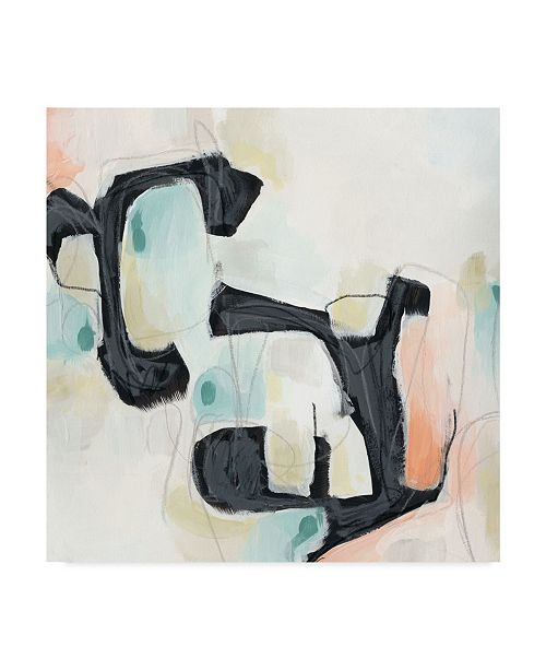 "Trademark Global June Erica Vess Pastel Horizon I Canvas Art - 15"" x 20"""
