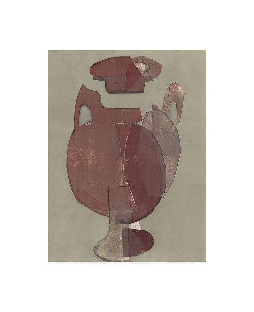 """Trademark Global Rob Delamater Abstract Vessel I Canvas Art - 20"""" x 25"""""""