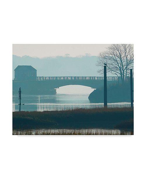 "Trademark Global James Mcloughlin Scene on the Water IX Canvas Art - 20"" x 25"""