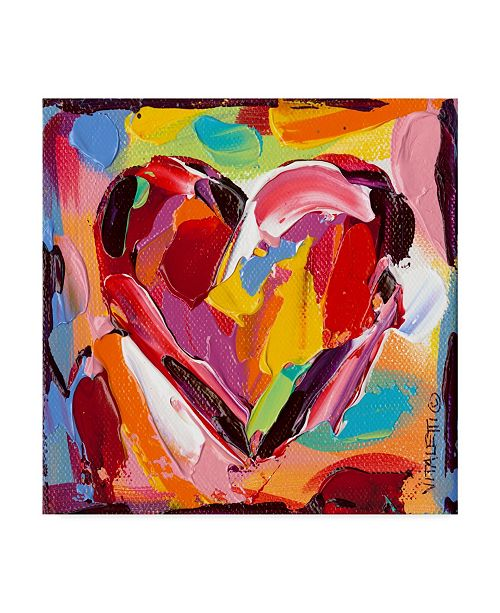 "Trademark Global Carolee Vitaletti Colorful Expressions I Canvas Art - 15"" x 20"""