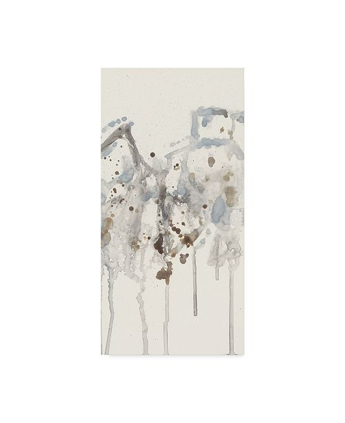 "Trademark Global Jennifer Goldberger Neutral Spray I Canvas Art - 20"" x 25"""