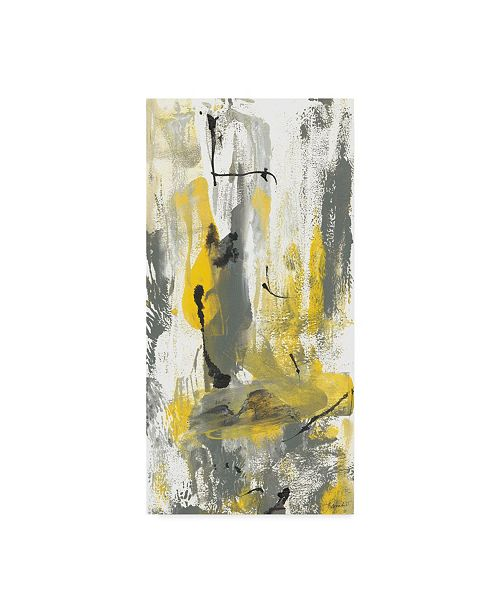 "Trademark Global Joyce Combs Grey Movement I Canvas Art - 20"" x 25"""