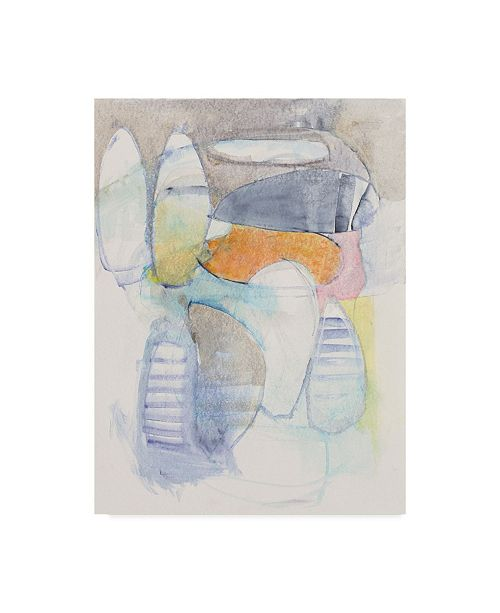 """Trademark Global Mike Schick Beneath the Surface I Canvas Art - 20"""" x 25"""""""