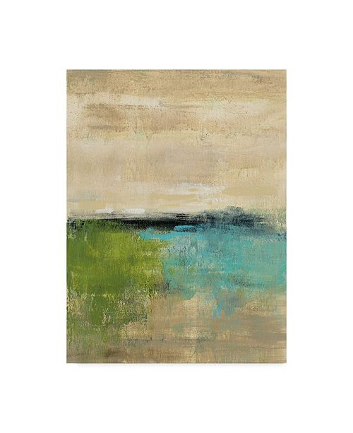 "Trademark Global Silvia Vassileva Spring Valley II Canvas Art - 20"" x 25"""