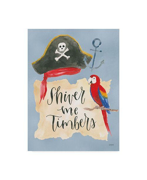 "Trademark Global Jenaya Jackson Pirates III Canvas Art - 15"" x 20"""