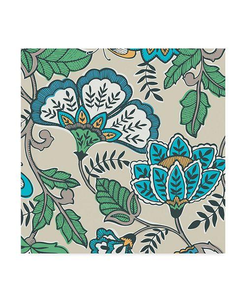 "Trademark Global Diane Kappa Namaste Floral I Canvas Art - 27"" x 33"""
