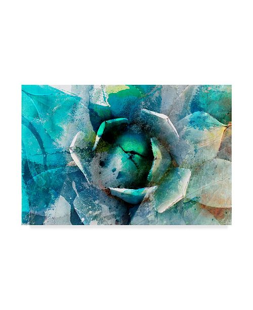 "Trademark Global Sisa Jasper Agave Abstract I Canvas Art - 15"" x 20"""