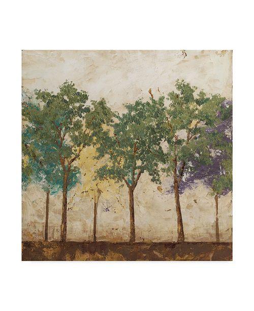"Trademark Global Megan Meagher Arbor Discourse I Canvas Art - 20"" x 25"""