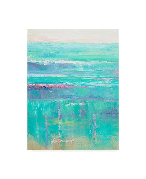 "Trademark Global Suzanne Wilkins Beneath the Sea I Canvas Art - 20"" x 25"""