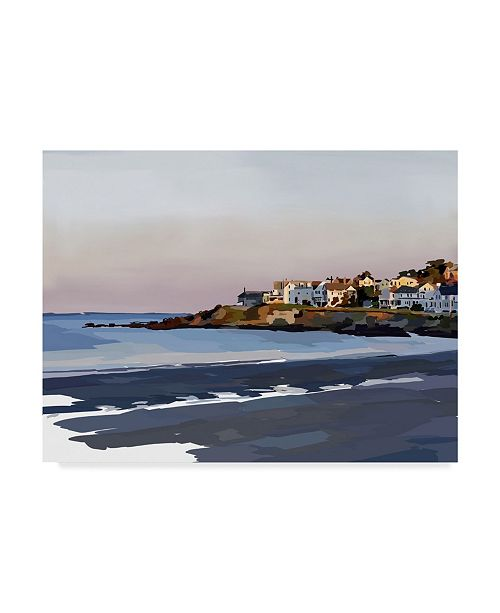 "Trademark Global Emily Kalina Peaceful Coast Canvas Art - 37"" x 49"""