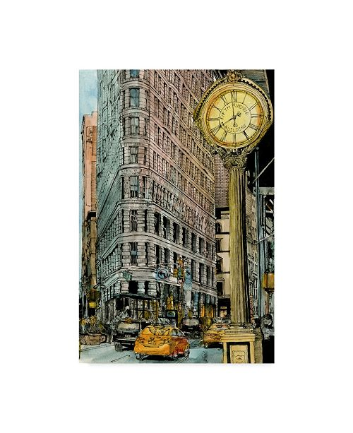 "Trademark Global Melissa Wang City Scene VII Canvas Art - 15"" x 20"""