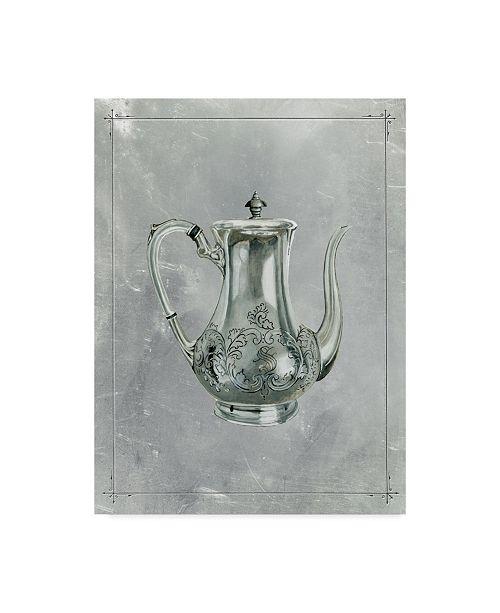 "Trademark Global Naomi Mccavitt English Silver I Canvas Art - 20"" x 25"""