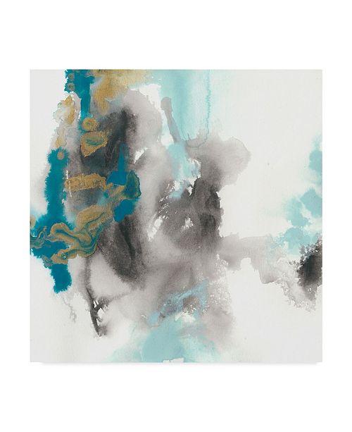 "Trademark Global June Erica Vess Cerulean Mirage II Canvas Art - 15"" x 20"""