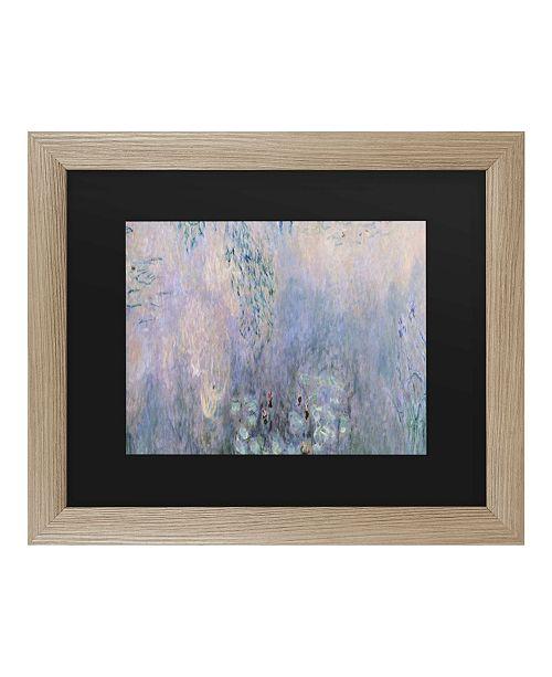 """Trademark Global Claude Monet Water Lilies 1914-22 Matted Framed Art - 27"""" x 33"""""""