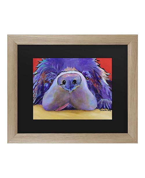 """Trademark Global Pat Saunders-White Graysea Matted Framed Art - 27"""" x 33"""""""